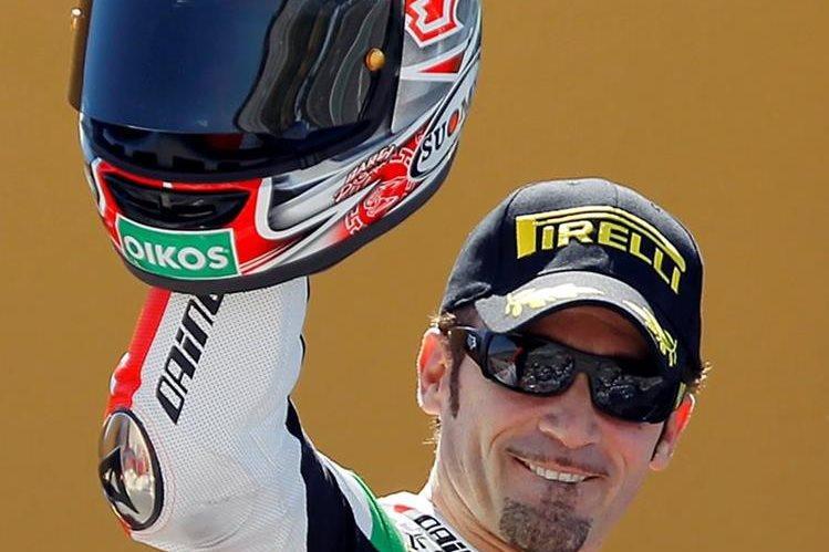 Ex piloto de Moto GP sufrió accidente y se encuentra grave
