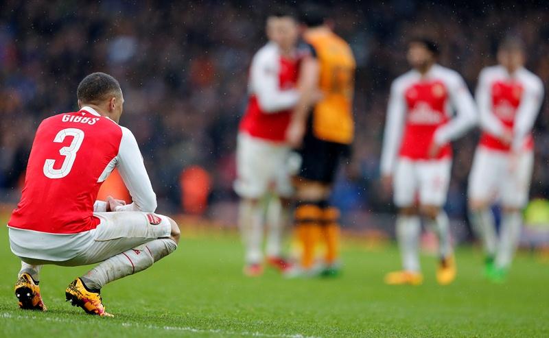 El Arsenal se quedó con un tímido empate frente al Hull City. (Foto Prensa Libre: AP)