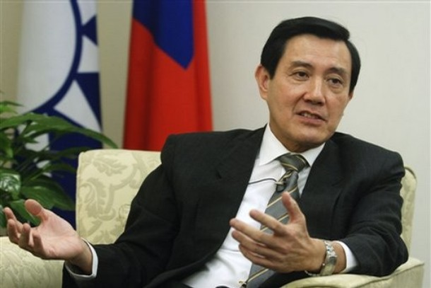 El presidente Ma Ying-jeou, durante un entrevista. (Foto: Internet).