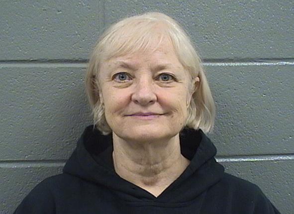 Marilyn Hartman al momento de su detención. (Foto Prensa Libre: Policía del condado Cook en Illinois).