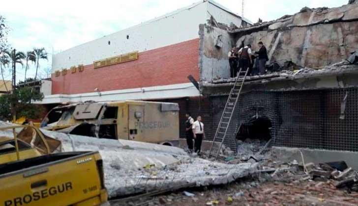 ¡Insólito! Asalto de película, robo millonario en Paraguay