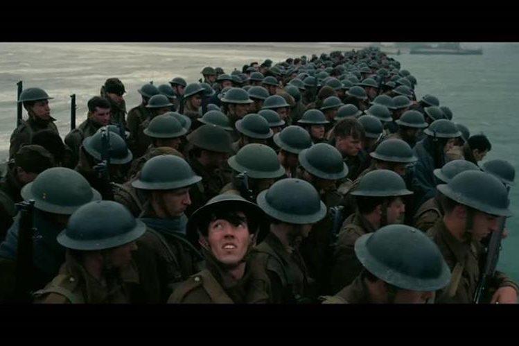 Dunkerque es una película británico-estadounidense de género bélico de 2017. Fue escrita, coproducida y dirigida por Christopher Nolan (Foto Prensa Libre: i.ytimg.com)