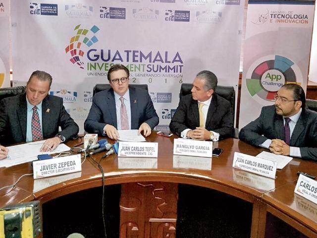 Los organizadores del Investment Summit 2016 apuestan a atraer nueva inversión al país. (Foto Prensa Libre: Cortesía)