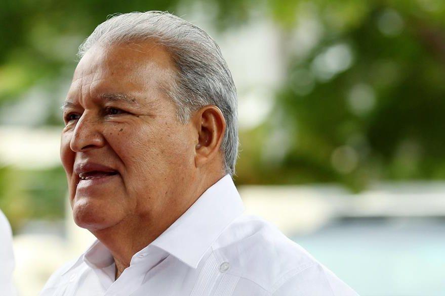 El presidente de El Salvador, Salvador Sánchez Cerén, en enero de 2017. (Foto Prensa Libre: EFE)