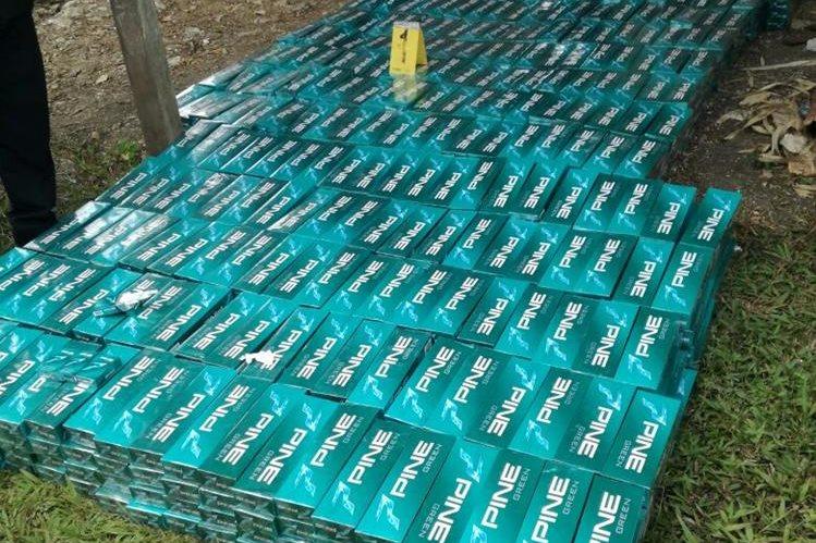 Mercadería por la que pedían dinero los agentes de la PNC para devolverla. (Foto Prensa Libre: Cortesía)
