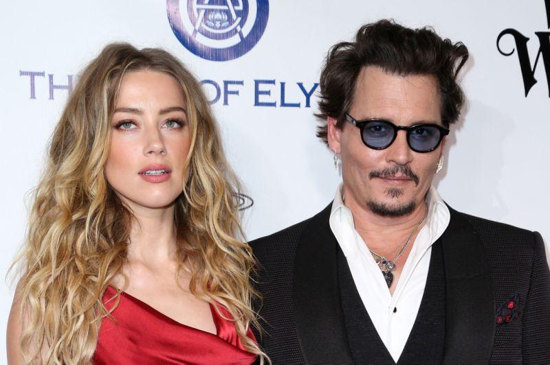 El matrimonio de Amber Heard y Johnny Depp duró 15 meses. (Foto Prensa Libre: AP)