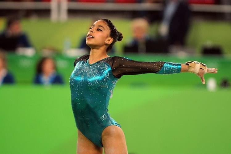 Ana Sofía Gómez tuvo alrededor de 7 años de alta competencia en la gimnasia artística. (Foto Prensa Libre: Hemeroteca PL)