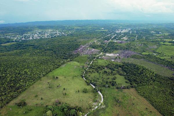 Imagen de la zona adyacente entre Guatemala y Belice. (Foto Prensa Libre: Hemeroteca PL)