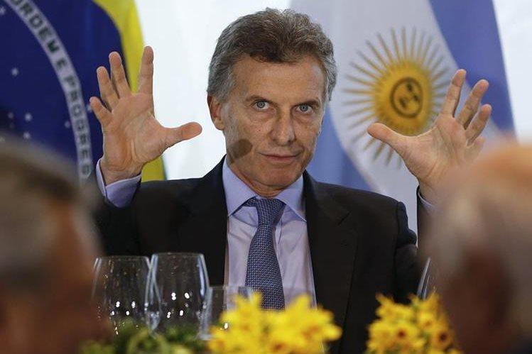 Mauricio Macri, presidente electo de Argentina. (Foto Prensa Libre: AP).