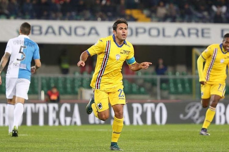 Elder se el líder solitario de la tabla de goleadores de la Serie A de Italia. (Fotos Prensa Libre: AFP)