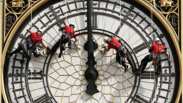 La famosa torre se rebautizó Elizabeth Tower en 2012 por el Jubileo de Oro de la reina. PA