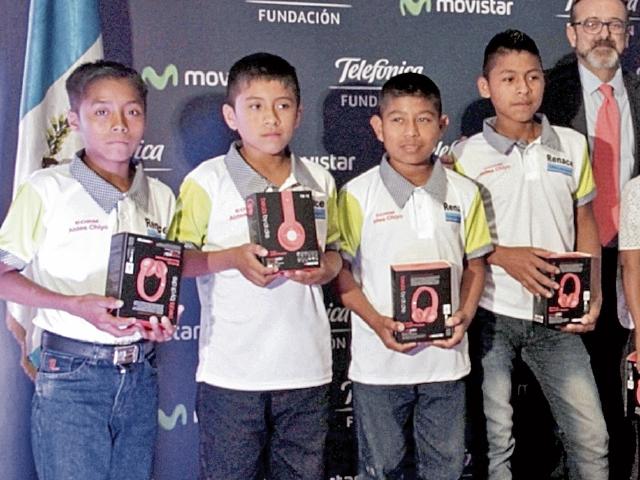 Doce proyectos cumplieron con todo el proceso del concurso de Telefónica. (Foto Prensa Libre: Cortesía)