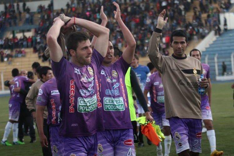 Real Potosí era uno de los equipos más afectados por el atraso en el pago. (Foto Prensa Libre: Diario Diez Bolivia)