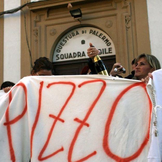 """El """"pizzo"""", o extorisión mafiosa, sigue presente en Sicilia. GETTY/MARCELLO PATERNOSTRO"""