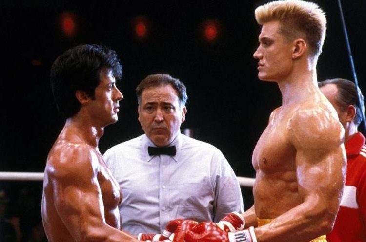 La película de Rocky IV donde Rocky e Iván Drago se enfrentaron en el cuadrilátero se volvió la más taquillera de la saga
