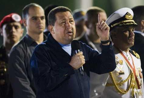 El presidente venezolano, Hugo Chávez, habla en La Habana. (AFP).
