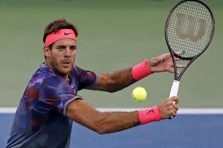 Juan Martin del Potro será exigido ahora en esta fase del US Open. (Foto Prensa Libre: AP)