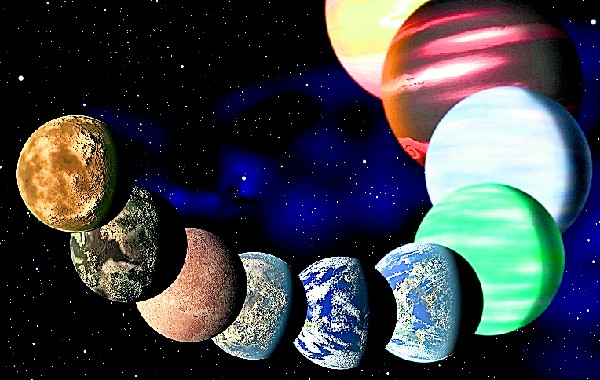 "<span class=""hps"">Un fotoarte</span> <span class=""hps"">muestra</span> <span class=""hps"">los diferentes tipos de</span> <span class=""hps"">planetas en</span> <span class=""hps"">nuestra</span> <span class=""hps"">galaxia.</span>"