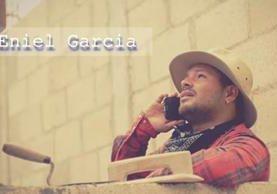 Eniel García tiene ocho años de carrera musical como solista. (Foto Prensa Libre)