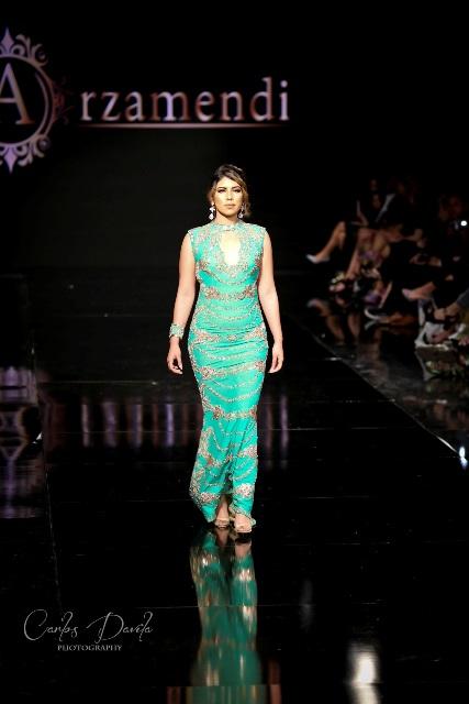 Andrea González, Miss Guatemala USA 2016, hija de padres guatemaltecos. (Foto Prensa Libre: Carlos Dávila).