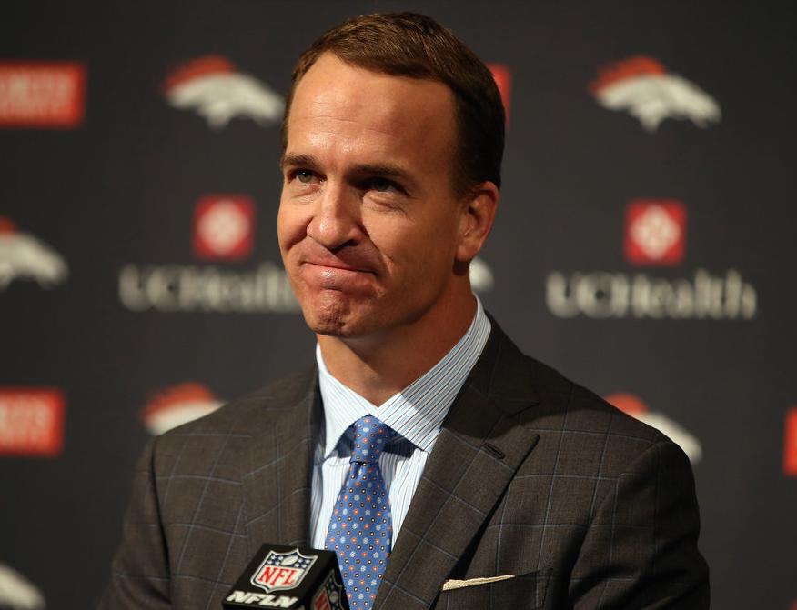 Peyton Manning se retiró como campeón con los Broncos de Denver. (Foto Prensa Libre: Hemeroteca PL)