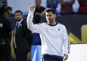 Lionel Messi volverá a jugar este viernes. (Foto Prensa Libre: AP)
