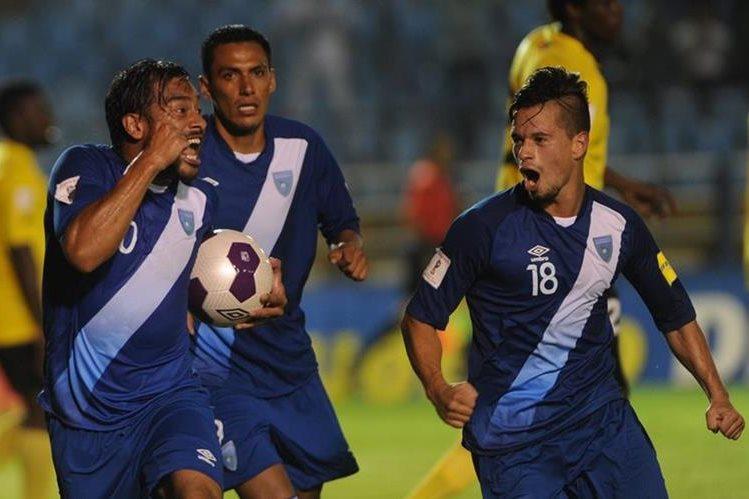 Carlos Ruiz llegó a 59 goles con la Selección Nacional. (Foto Prensa Libre: Eduardo González)