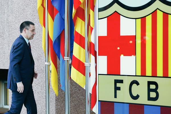 El presidente deportivo del FC Barcelona, Josep Maria Bartomeu, deberá responder a la justicia española por el caso Neymar. (Foto Prensa Libre: Hemeroteca PL)