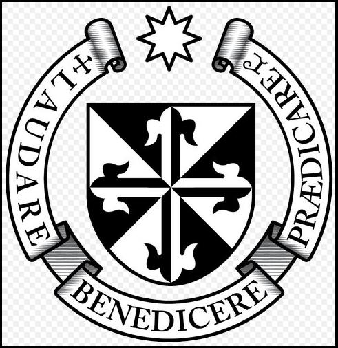 Escudo de la orden dominica, que tuvo a su cargo la administración de San Martín Jilotepeque, fundada por los conquistadores. (Foto Prensa Libre: internet)