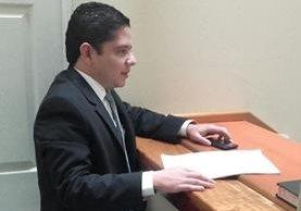 Fiscalía contra Delitos Económicos presenta la acusación formal en contra del exmagistrado Fralnk Trujillo, vinculado al caso Aceros de Guatemala. (Foto Prensa Libre: Claudia Palma)