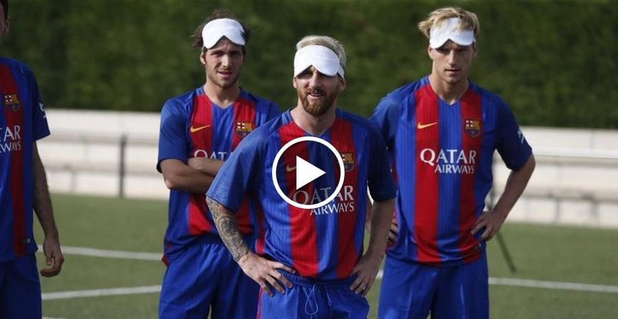 El FC Barcelona publicó un vídeo en su portal web. (Foto Prensa Libre: FC Barcelona)