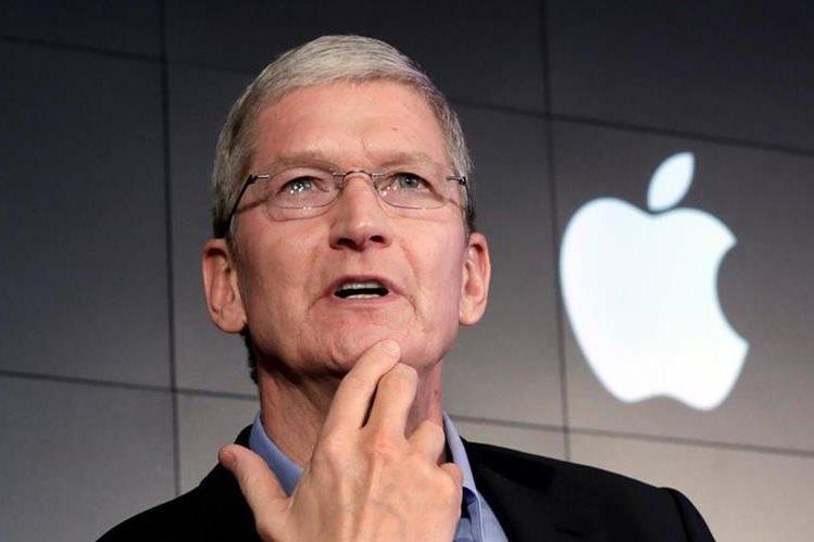 El CEO de Apple, Tim Cook, presentará las novedades de su empresa. (Foto Prensa Libre: AP)