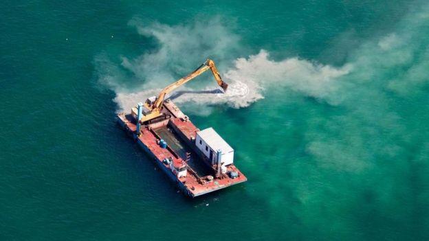 Construir sobre el mar puede causar grandes daños a los ecosistemas oceánicos. (ISTOCK)