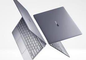 La Matebook X es la apuesta de gama alta de Huawei por incursionar en la computación portatil (Foto Prensa Libre: Huawei).