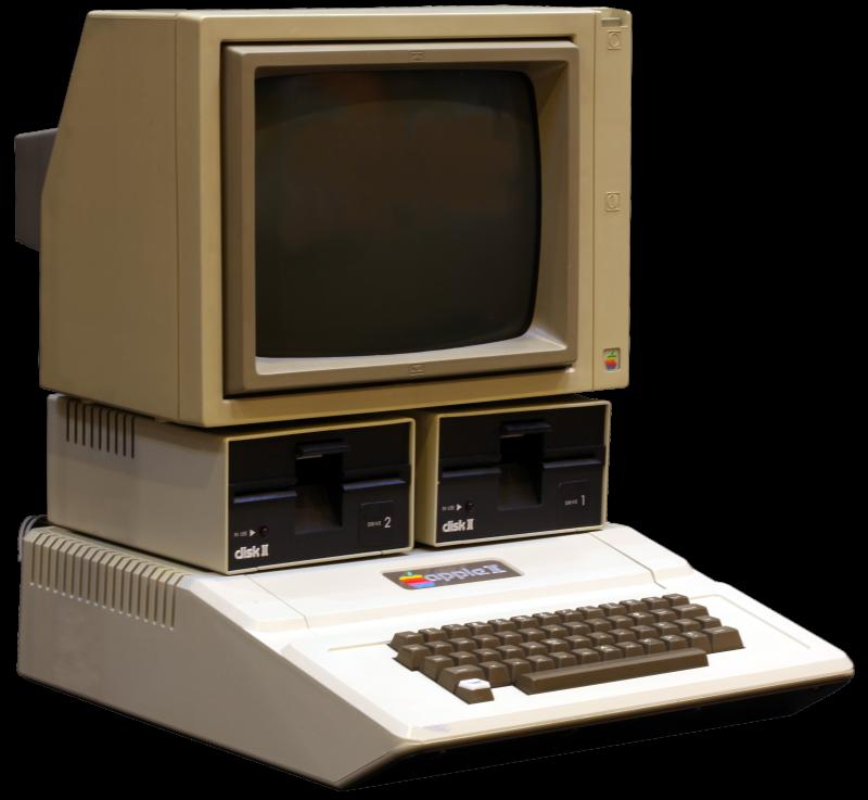 Computadora Apple II. (Foto Prensa Libre: Hemeroteca PL)