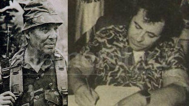 Benedicto Lucas y Francisco Gordillo ocupaban altos cargos en la cúpula militar en el momento de la desaparición de Marco Antonio. (Foto; Prensa Libre)