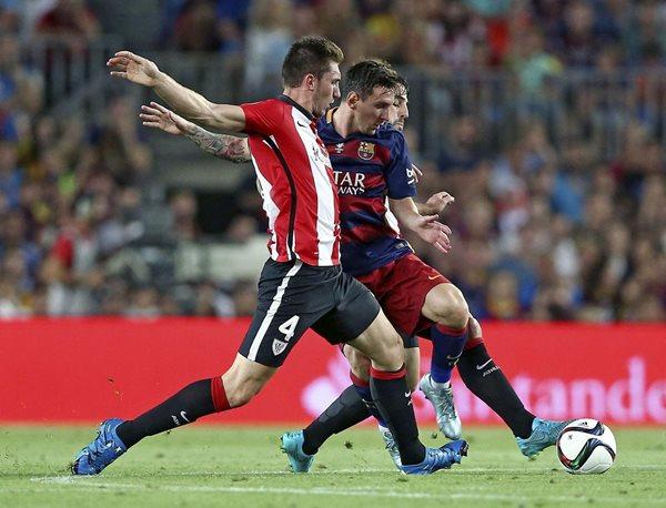El Barcelona iniciará la defensa de su corona en la liga española contra el Bilbao (Foto Prensa Libre: Hemeroteca PL)