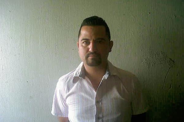 Óscar Alexander  González Pernillo fue capturado en la zona 1 de Jutiapa, sindicado de haber participado en al menos 10 asesinatos. (Foto Prensa Libre: PNC)