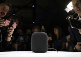 El recién presentado HomePod saldrá a la venta en diciembre a US$349 en el mercado esadounidense. GETTY IMAGES