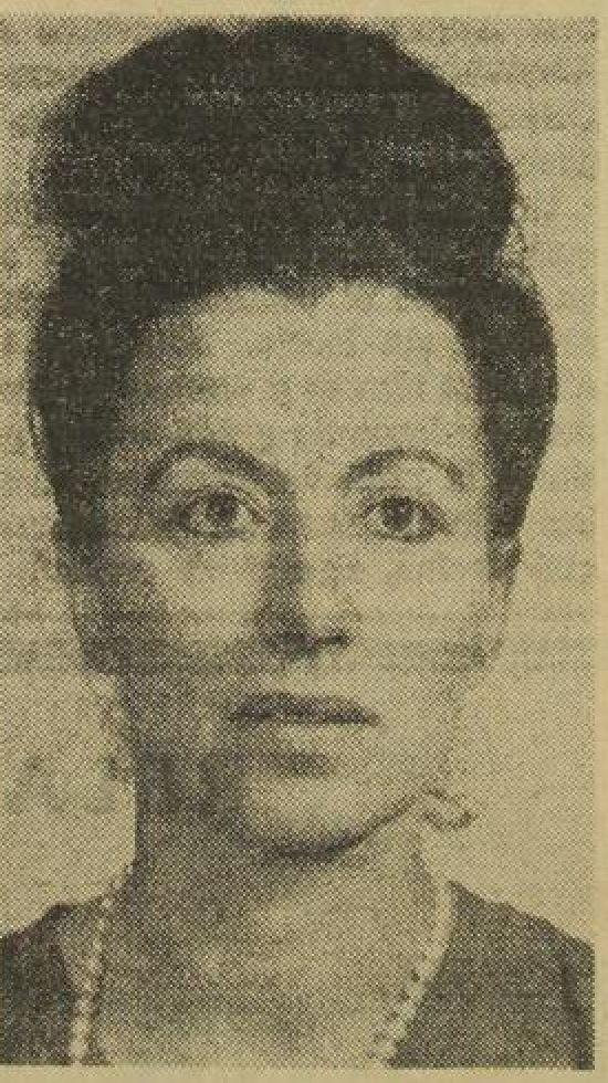 La escritora guatemalteca Alaíde Foppa de Solórzano, fotografía  tomada el 04/02/1964. (Foto: Hemeroteca PL)