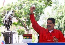 Nicolás Maduro promueve una reforma constitucional en Venezuela, con la que según opositores, busca perpetuarse en el poder. (Foto Prensa Libre: EFE)