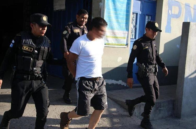 Rony Estuardo Gómez Galicia. (Foto Prensa Libre: PNC)