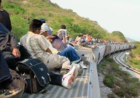Durante la Cumbre de Migrantes y Retornados se relataron testimonios de guatemaltecos que intentaron llegar a EE.UU. (Foto Prensa Libre: Hemeroteca PL)
