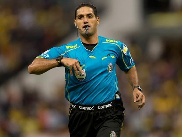 El mexicano Roberto García impartirá justicia en el juego de vuelta.