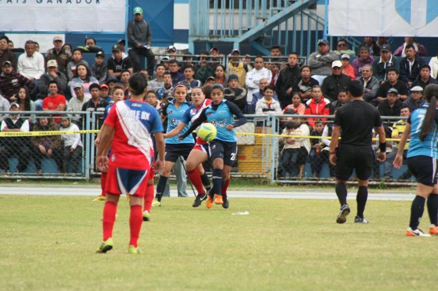La final de ida se disputó ayer, en Quetzaltenango. (Foto Prensa Libre: Cortesía Erwin Morales)