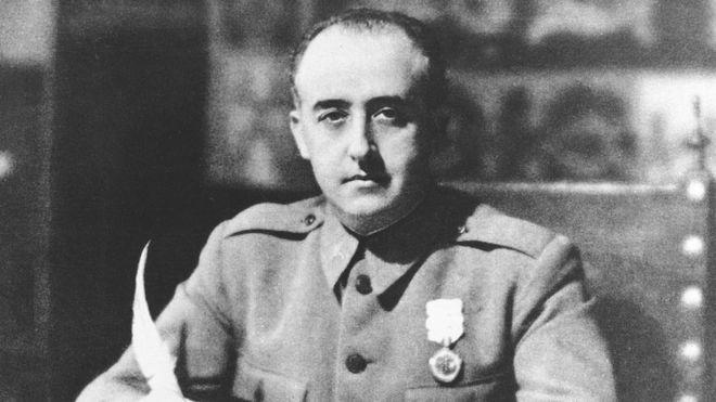 El general Francisco Franco gobernó España con mano de hierro desde 1939 hasta 1975. (AP)