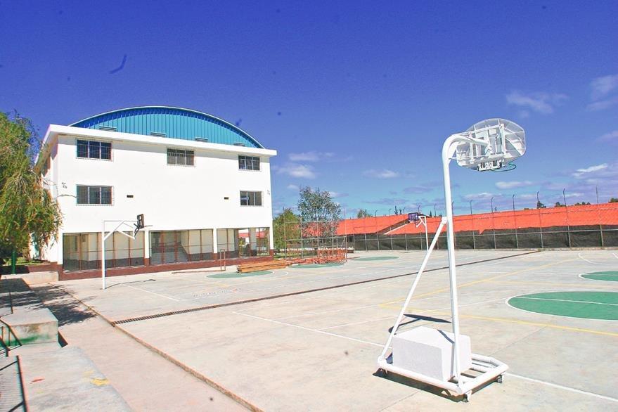 Instalaciones actuales del Colegio, en la Colonia El Rosario, Mixco. (Foto: Hemeroteca PL)