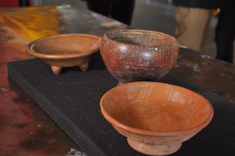 Las piezas arqueológicas provienen desde Alemania, Italia y Suiza (Foto Prensa Libre: cortesía Minex).