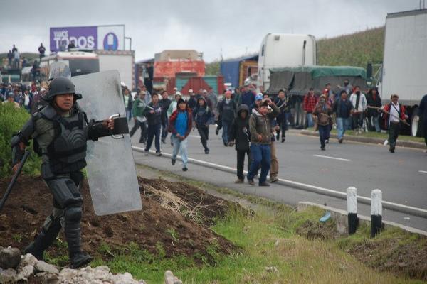 La muerte de seis manifestantes  refleja ingobernabilidad.