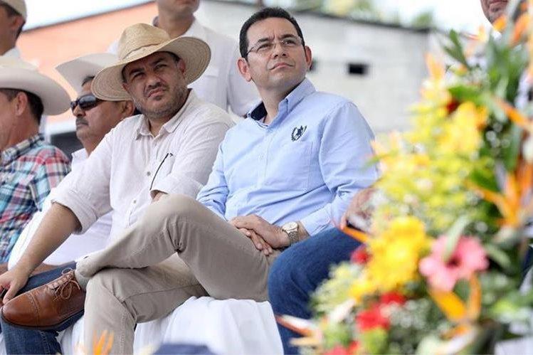 El presidente Jimmy Morales sostuvo una reunión con ganaderos y agroindustriales en Izabal (Foto: Gobierno de Guatemala)